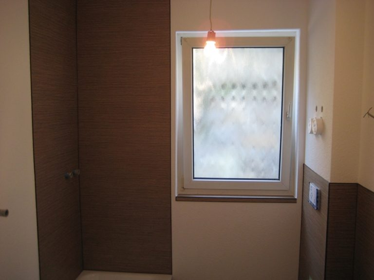 Badezimmer nach der Renovierung