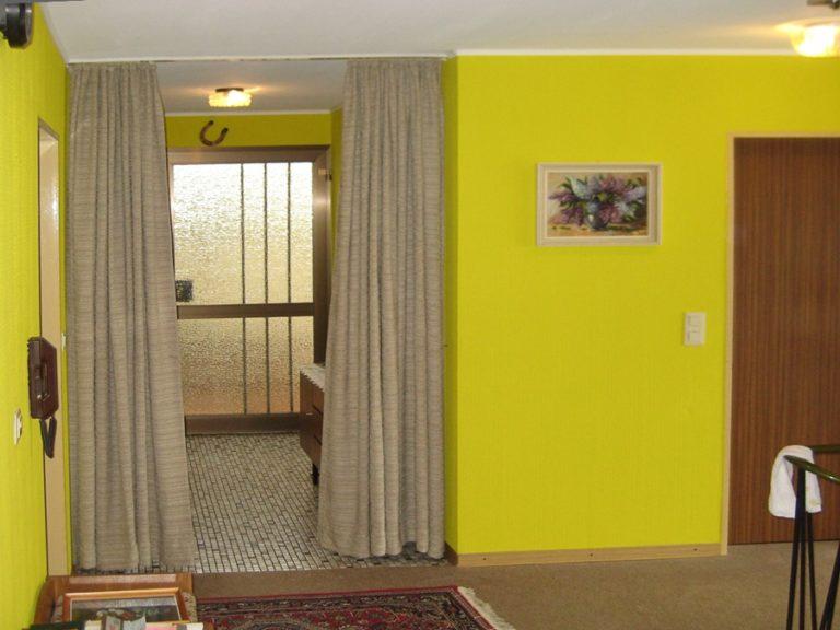 Die unterschiedlichen Wohnräume, sollten durch eine eigene Farbgebung abgesetzt werden