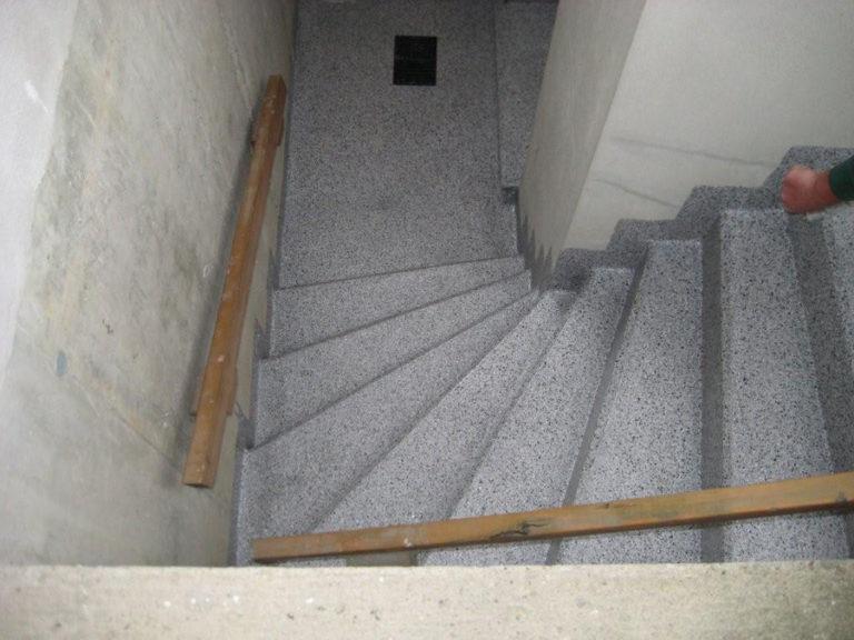 Durch die Abdichtung der Treppe konnte der Wassereinbruch in die Kellerräume nachhaltig gestoppt werden