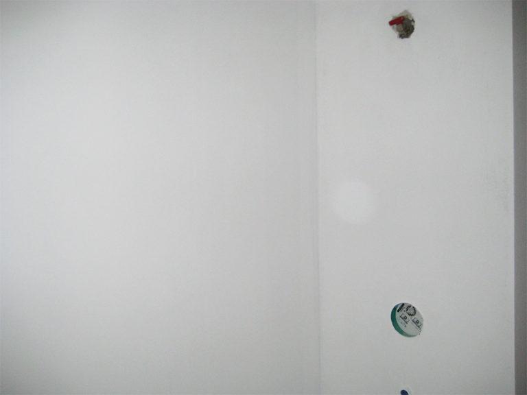 Duschbereich im Rohzustand