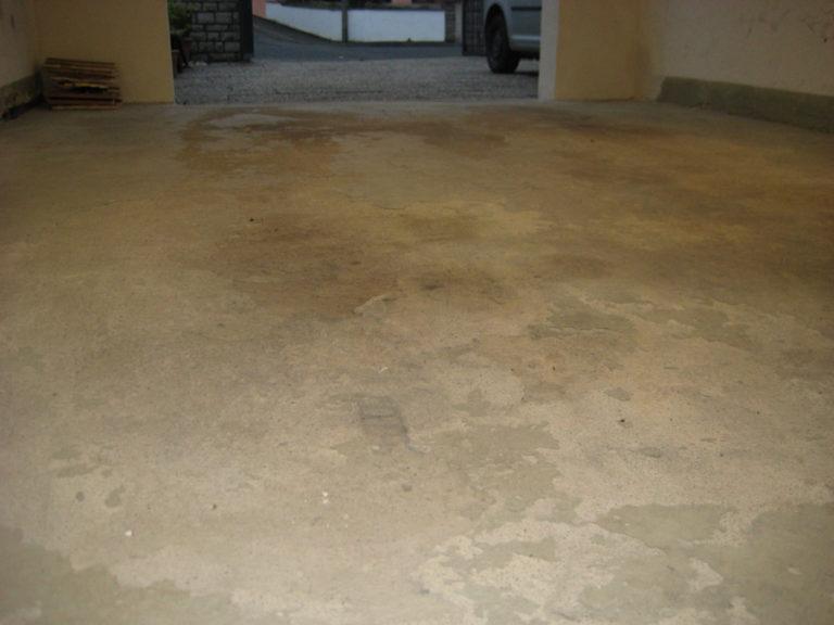 Garage mit Frostschäden
