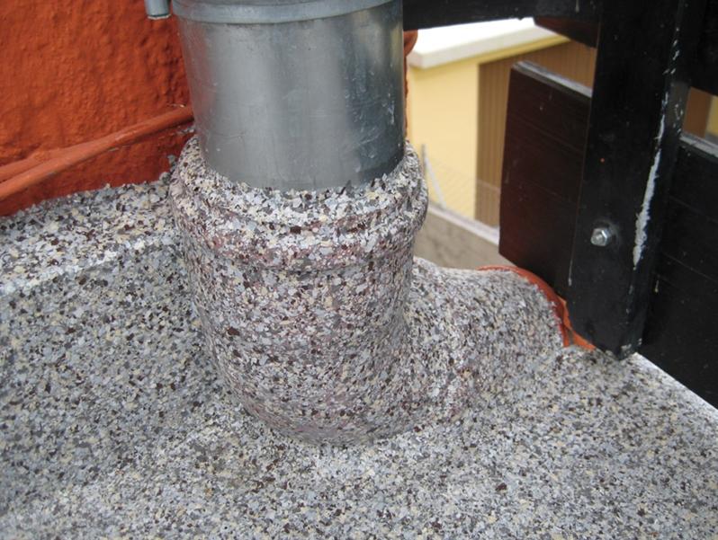 Rohre und Geländerpfosten werden einfach integriert